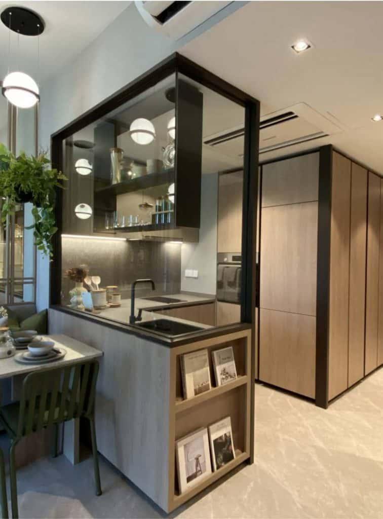 143 units sold -Ki Residences Interior view