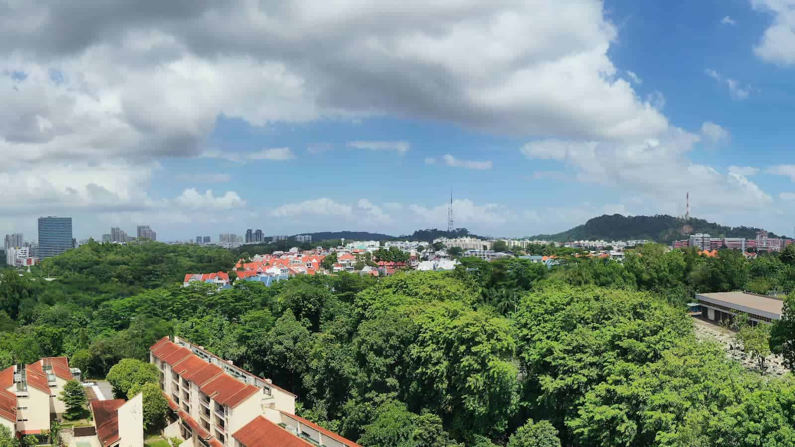 Ki Residences Location Drone North View