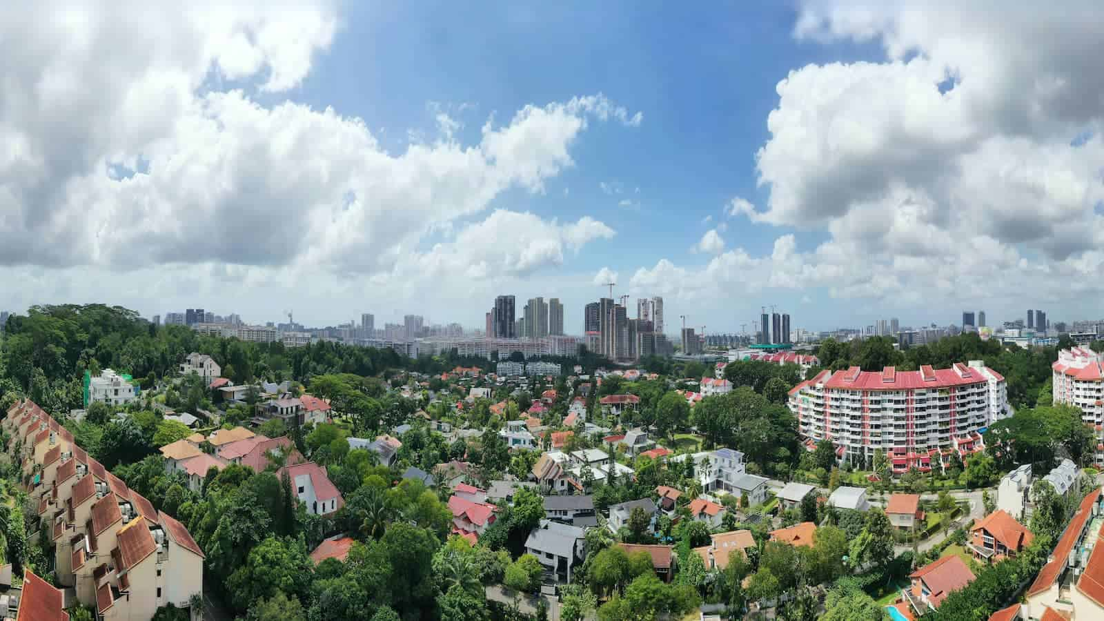 Ki Residences Location Drone South View