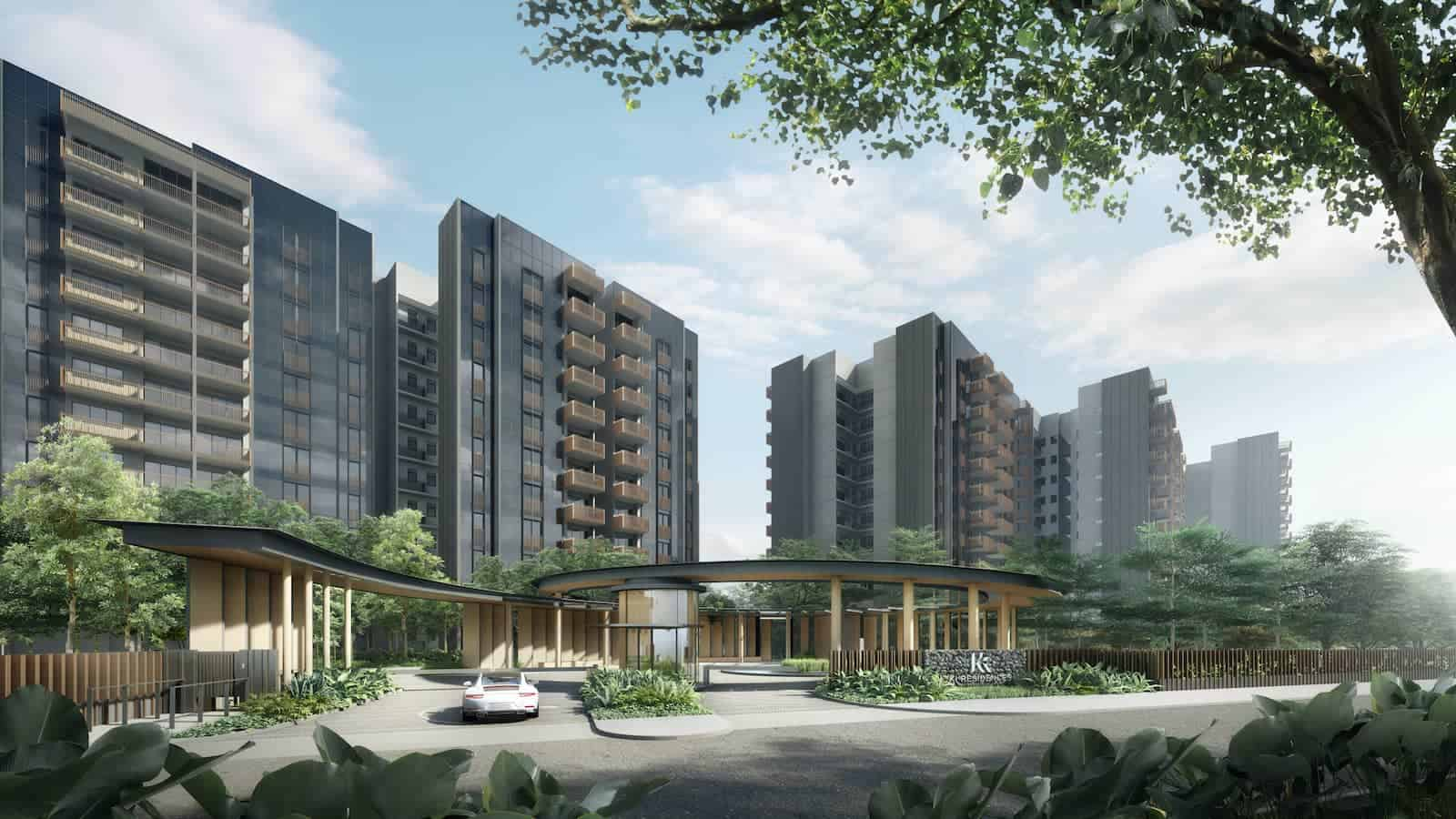 Ki Residences Entrance Artist Impression
