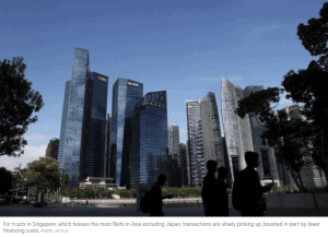 Singapore Reits Going Global Again