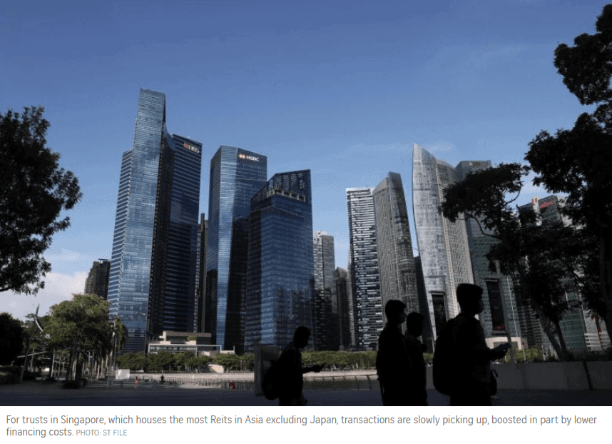 Singapore Reits Going Global Again